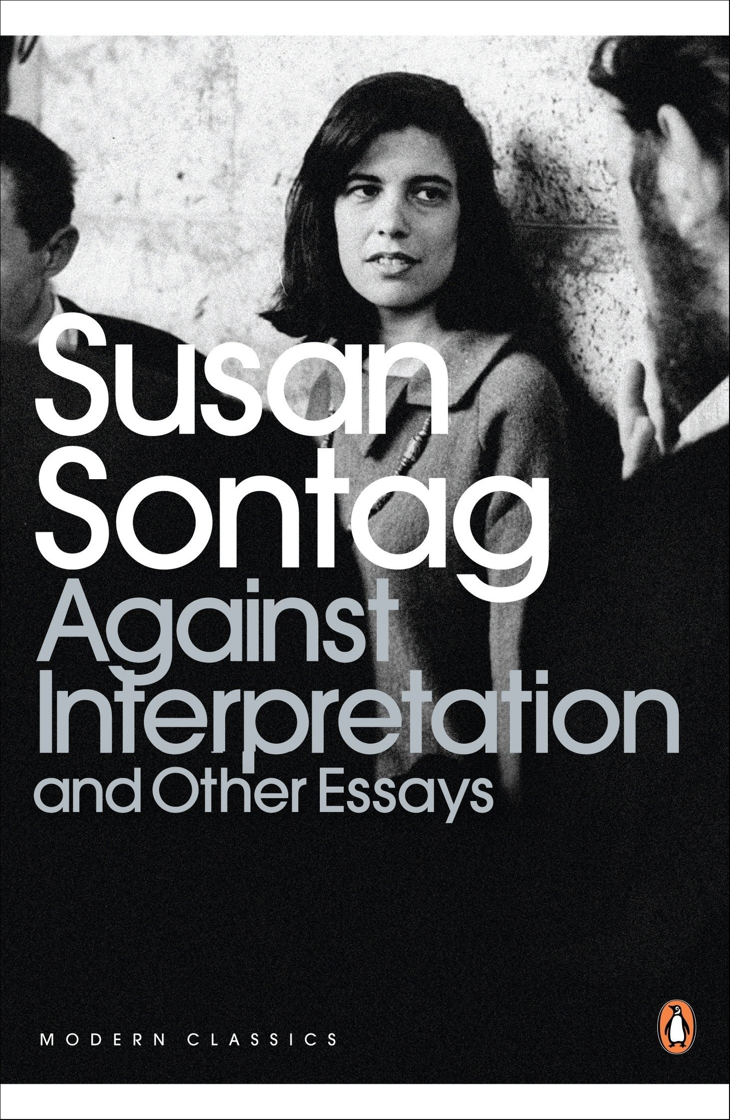Susan sontag against interpretation and other essays pdf