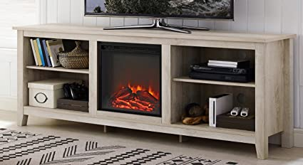 tv fireplace home metal stand with console stands legs white browse wood com walmart electric