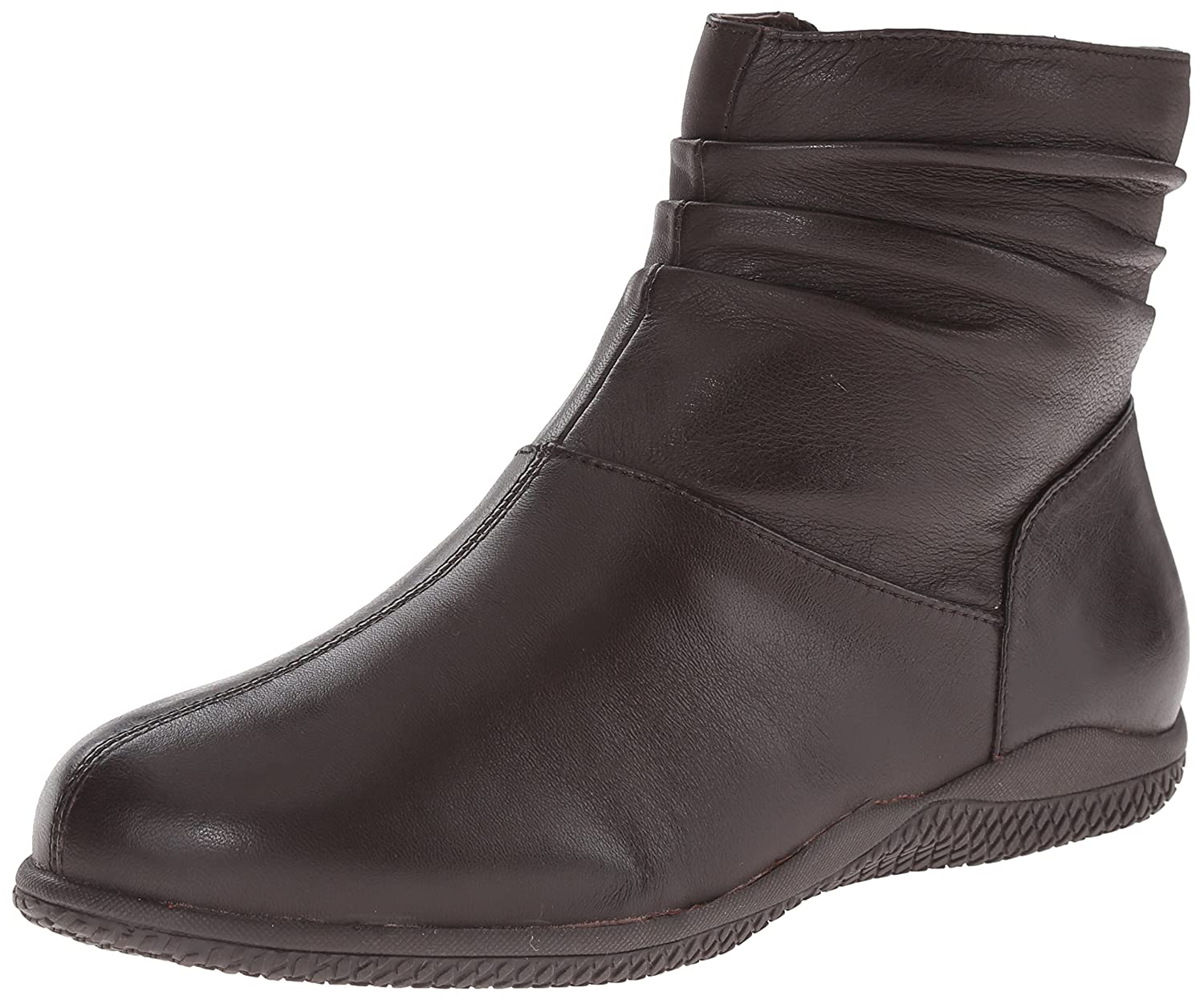 76676802fbb8 Amazon.com | SoftWalk Women's Hanover, Dark Brown 9 M US | Ankle & Bootie