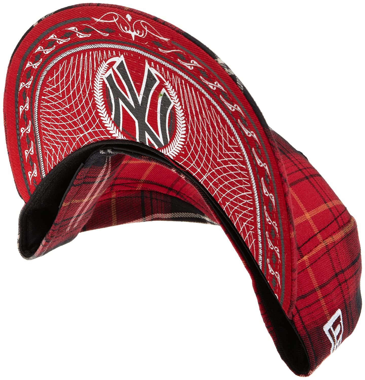 Amazon.com   MLB New York Yankees Tartanic 59Fifty Cap   Sports Fan  Baseball Caps   Sports   Outdoors 402d92229f73