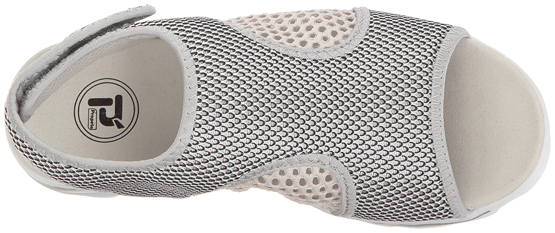 Propet B01IODF496 Women's TravelActiv Ss Sandal B01IODF496 Propet 8.5 B(M) US|Silver/Black 77d427