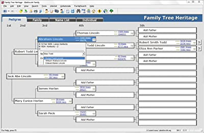 Individual Software Family Tree Heritage Platinum 8