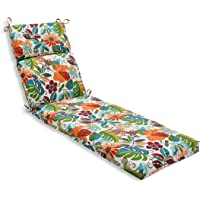 Pillow Perfect Outdoor/Indoor Lensing Jungle Chaise Lounge Cushion