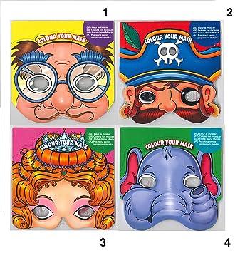 Coloriage Anniversaire Animaux.Masque A Colorier 20 Piece Mod4 Animal Coloriage Anniversaire