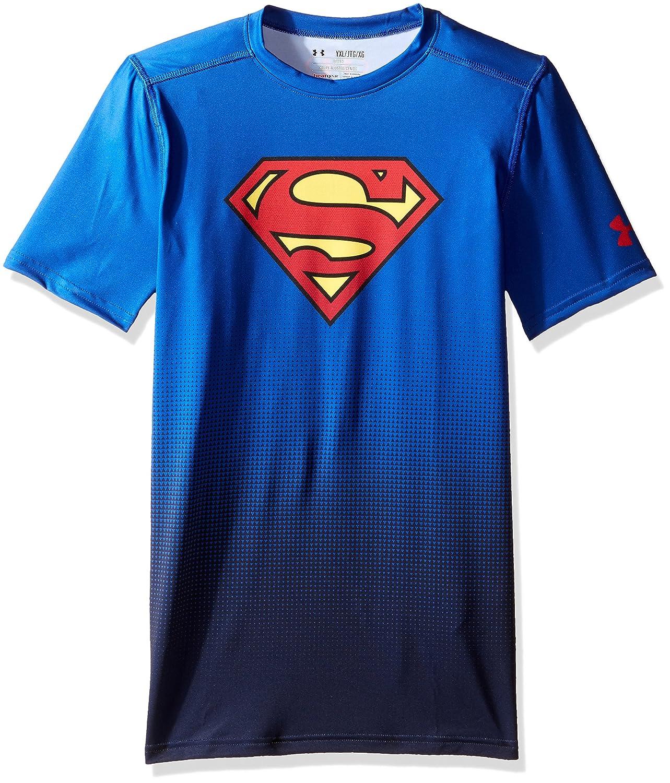 mejor sitio verse bien zapatos venta nueva temporada Under Armour HeatGear DC Comics Superman Child's Training Shirt ...