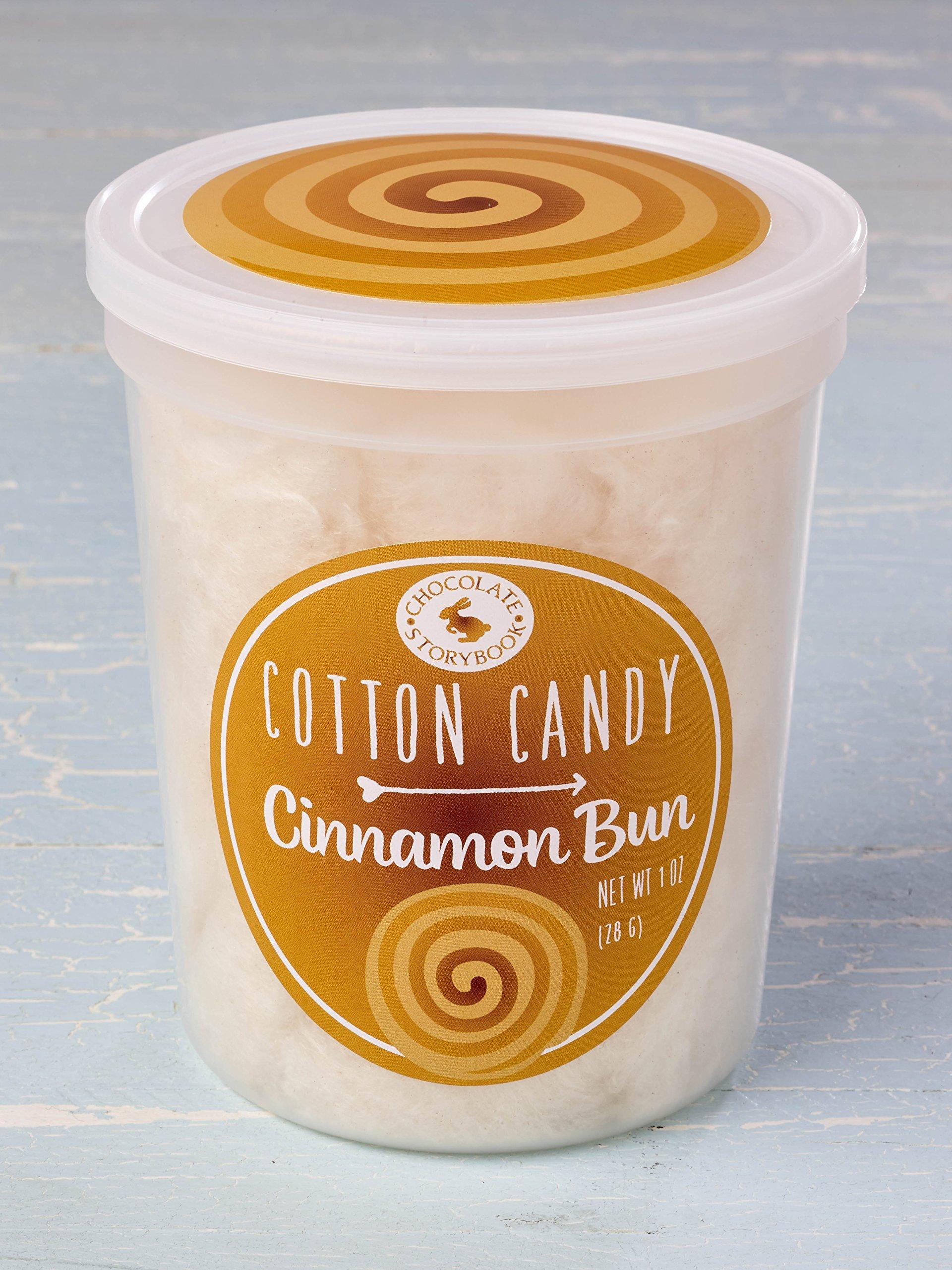 Cinnamon Bun Cotton Candy
