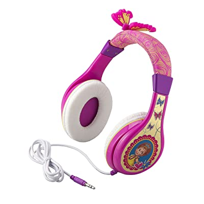 Fancy Nancy Headphones for Kids with Built in Volume Limiting Feature for Kid Friendly Safe Listening: Toys & Games