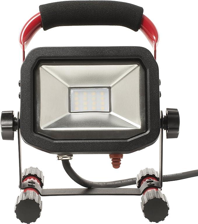LUCECO LSW18BR2-E2 - Proyector led slim portátil 1800lm 22w, negro ...