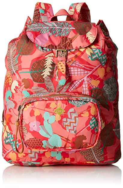 97e6dc3a2ee Oilily Oilily Folding Classic Backpack, Women's Backpack, Multi-Colored (  EU)