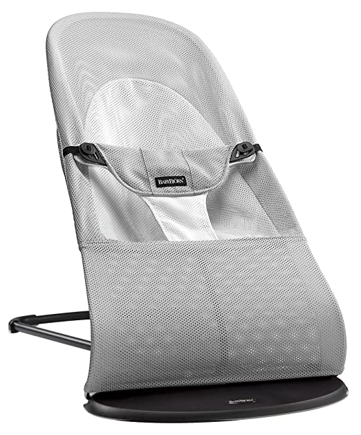 BABYBJORN Bouncer Balance Soft - Silver/White