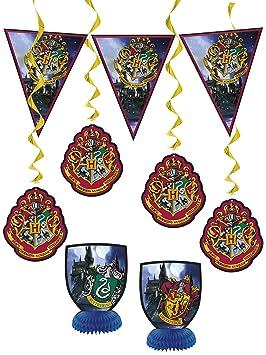 COOLMP - Juego de 6 Piezas de decoración de Harry Potter ...