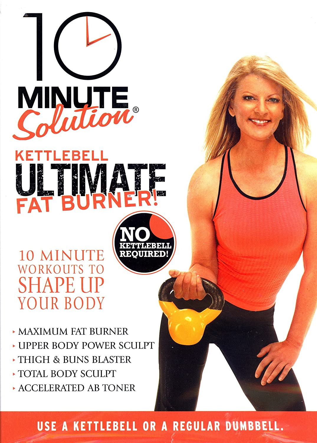 Amazon com 10 minute solution kettle bell fat burner dvd michele olson movies tv