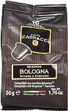 Caffè Carracci 100 cialde capsule compatibili Nespresso miscela Bologna