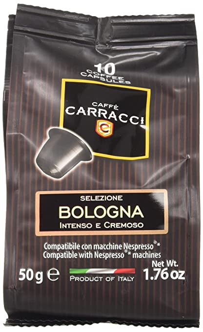 133 opinioni per Caffè Carracci 100 cialde capsule