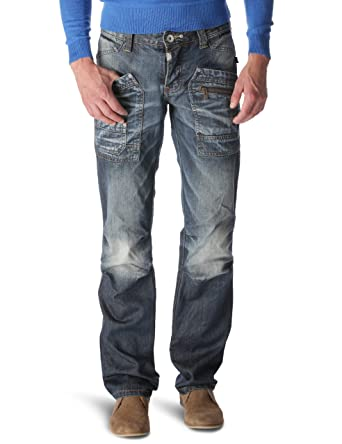 Timezone Clay Men s Jeans Blue Denim 29 32  Amazon.co.uk  Clothing 2ace92c918