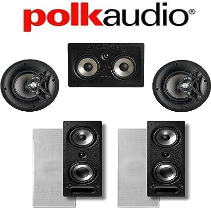 Polk Audio 255C-RT In-Wall In-Ceiling Center Channel Speaker