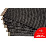 Siless Sound Deadening mat Black 80mil 30 sqft - Sound Deadener Mat - Car Sound Dampening Material - Sound dampener - Sound deadening Material Sound Insulation - Car Sound deadening Bulk Kit