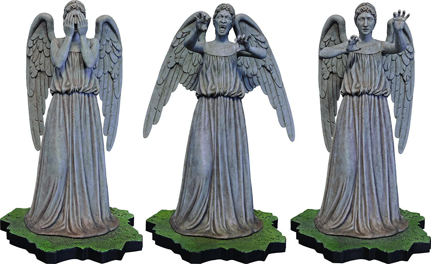 Big Chief Studios Doctor Who: Weeping Angel 1:6 Scale Polystone Collector Figure Statue B00QIS49BO