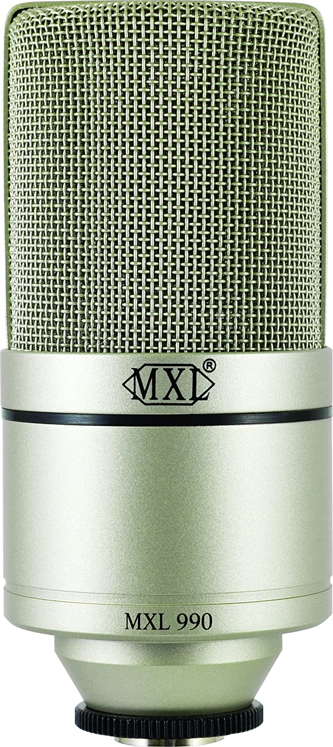 Amazon.com: MXL 990 Condenser Microphone with Shockmount: Musical ...