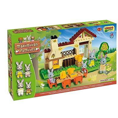 Androni Unico Plus 8934 Maximilian Families - Barbacoa para construir (70 piezas) , Modelos/colores Surtidos, 1 Unidad: Juguetes y juegos