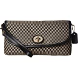 COACH Womens Exploded Rep Large Flap Wristlet