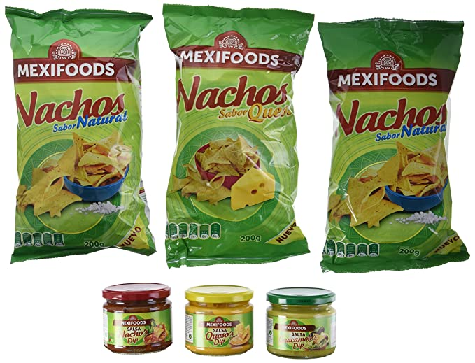 Mexifoods Caja Nachos Party - 1750 gr