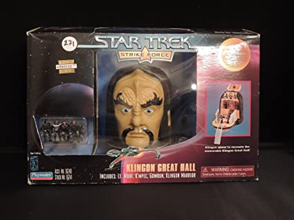 Amazon Com Klingon Great Hall Mini Playset Toys Games