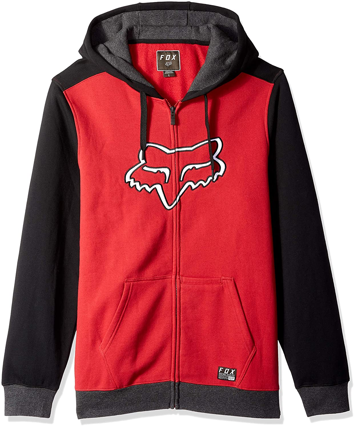 Fox Destrakt Zip Fleece Herren | Fruugo