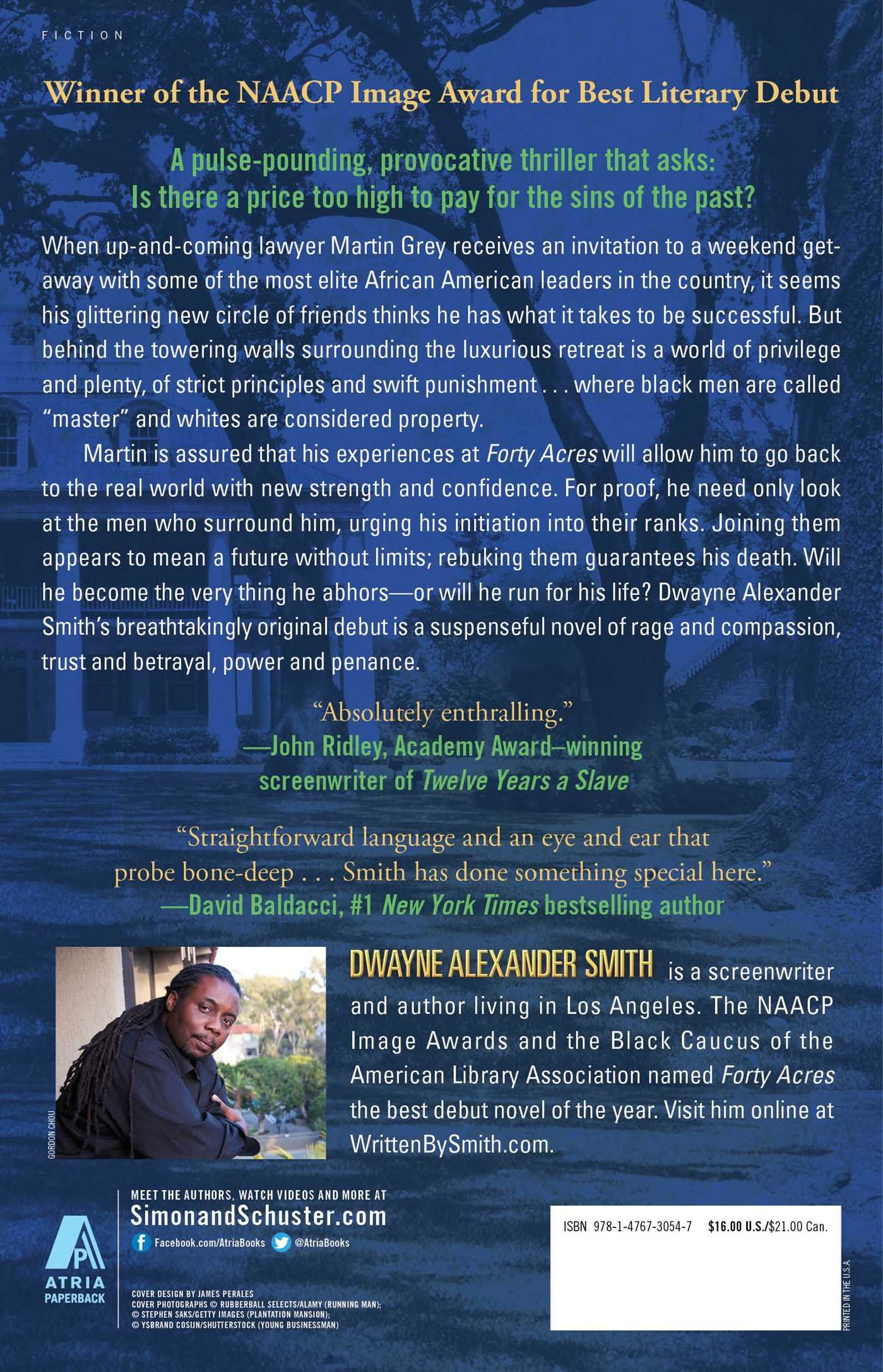 Forty Acres: A Thriller: Dwayne Alexander Smith: 9781476730547: Amazon:  Books