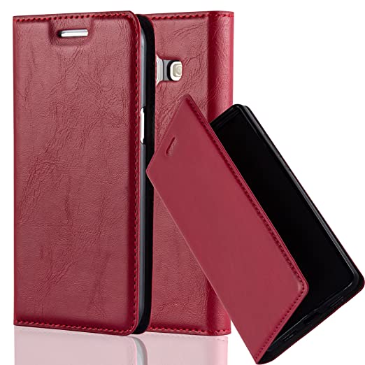 2 opinioni per Cadorabo – Custodia Book Style per Samsung Galaxy J1 (5) (Modello 2015) Design