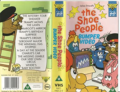 96e9d77bd2970 Shoe People Bumper Video [VHS]: Amazon.co.uk: Video