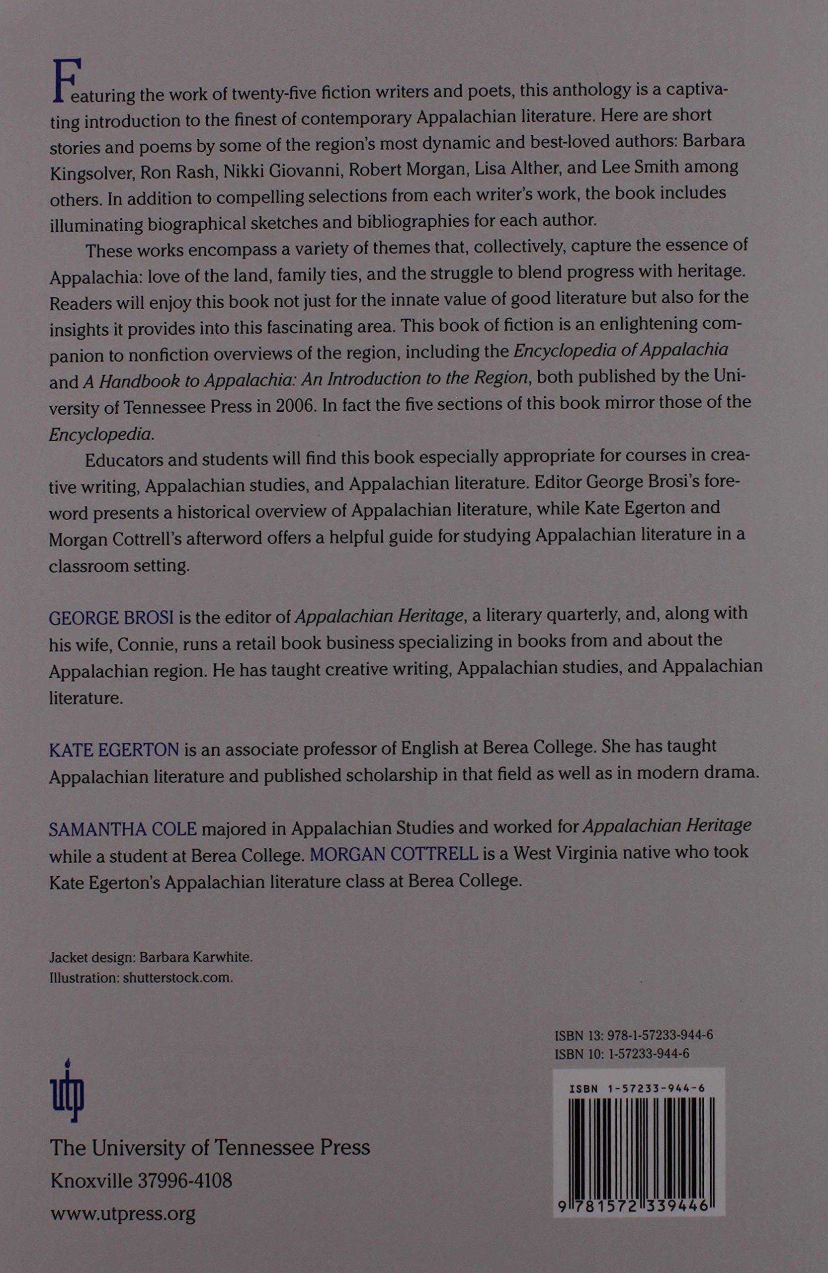 Amazon com: Appalachian Gateway: An Anthology of