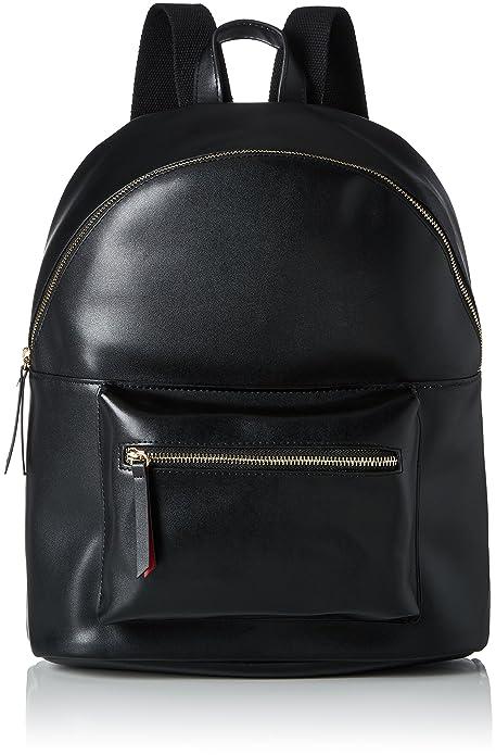 Pcnuna Backpack, Womens Backpack Handbag, Schwarz (Black), 15x38x30 cm (B x H T) Pieces