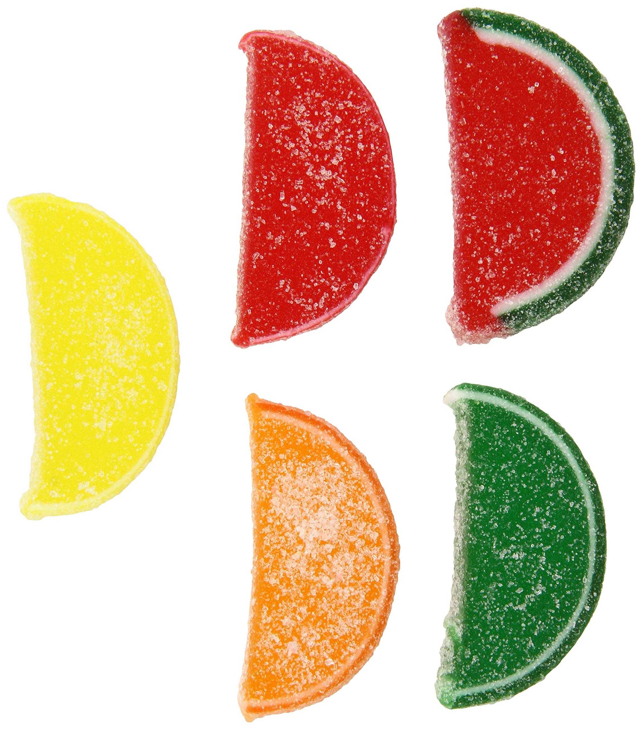 Nassau Candy Fruit Slice, Assorted, 5 Pound by Nassau Candy