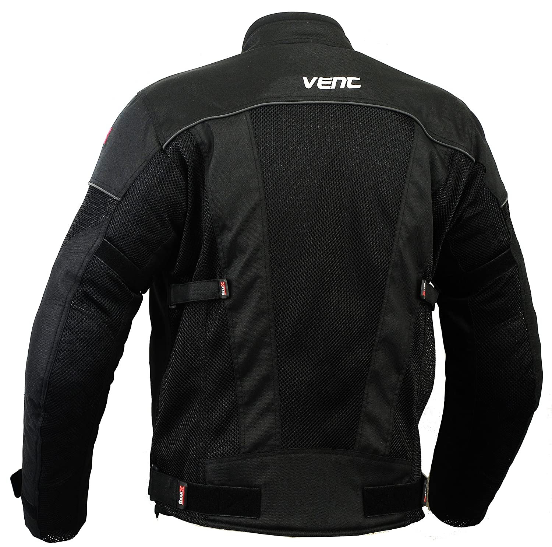L Air-Vent /& Waterproof Motorbike Protection Jacket