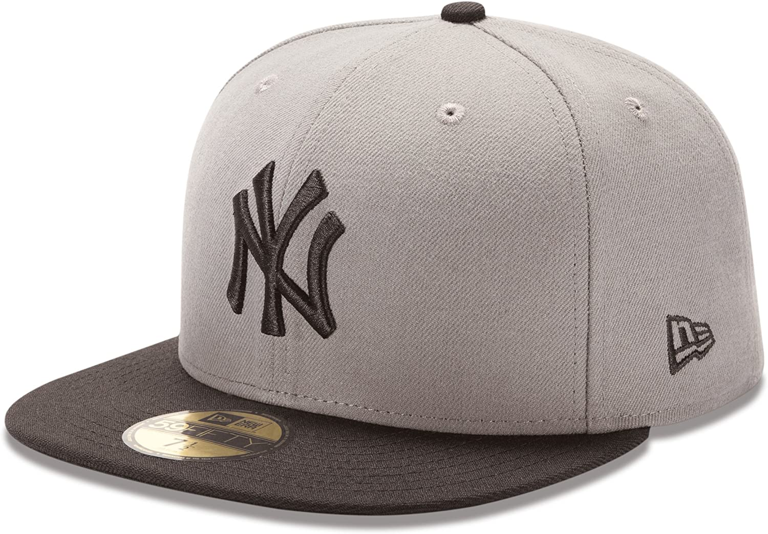 New Era 5950 Los Angeles Kings Fitted Hat Storm Gray//White//Black Men/'s Cap