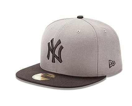 3fd03ee8d03 Amazon.com   New Era 59Fifty Kid s Youth New York Yankees Basic Gray ...