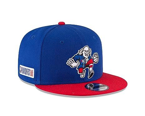 best sneakers a53a4 48211 ... spain new era philadelphia 76ers ben franklin 2018 nba playoffs 9fifty  snapback adjustable hat blue 56e0b