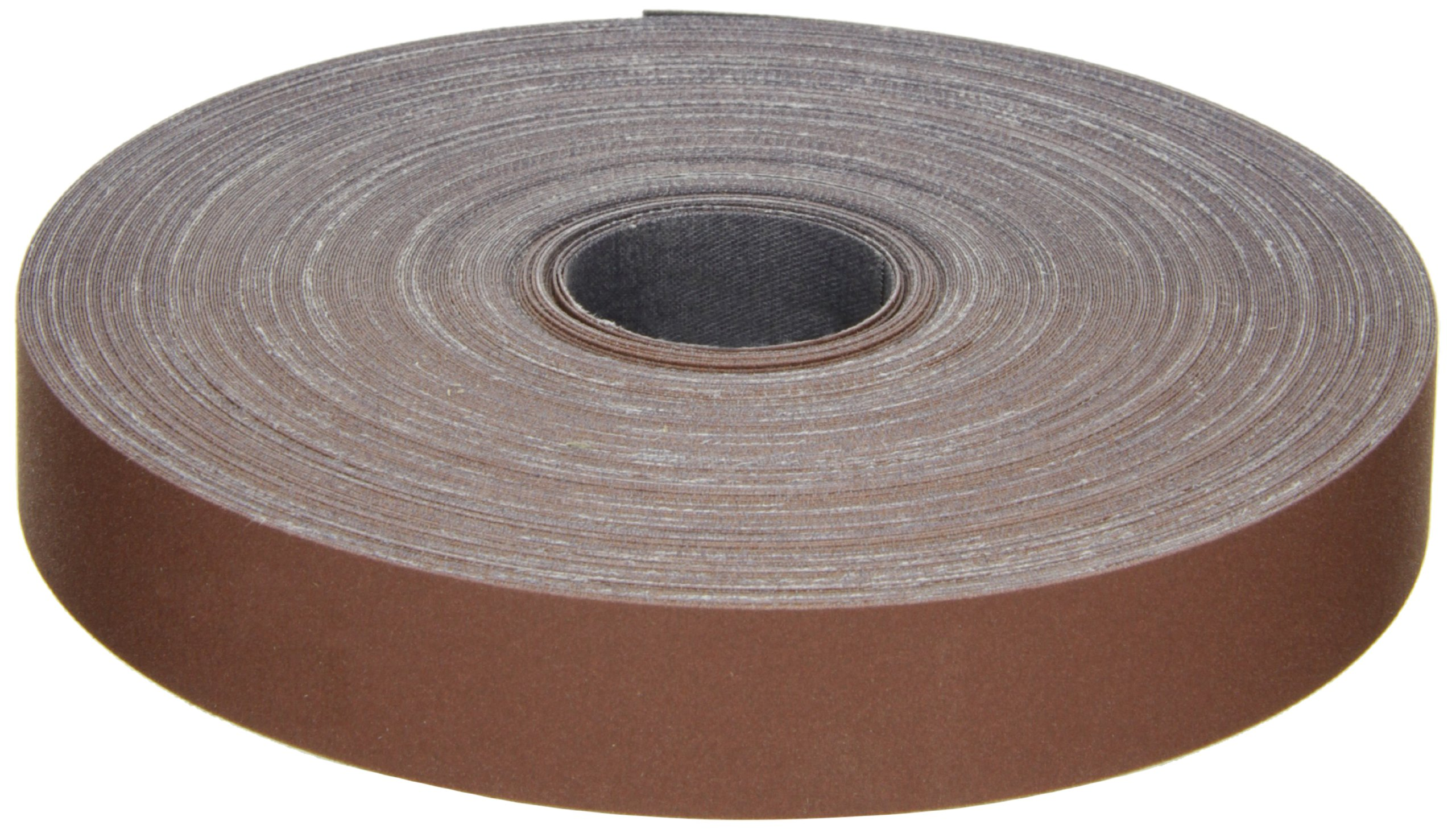 3M Utility Cloth Roll 314D, Aluminum Oxide, 1'' Width x 50 yds Length, P320 Grit, Maroon (Pack of 1)