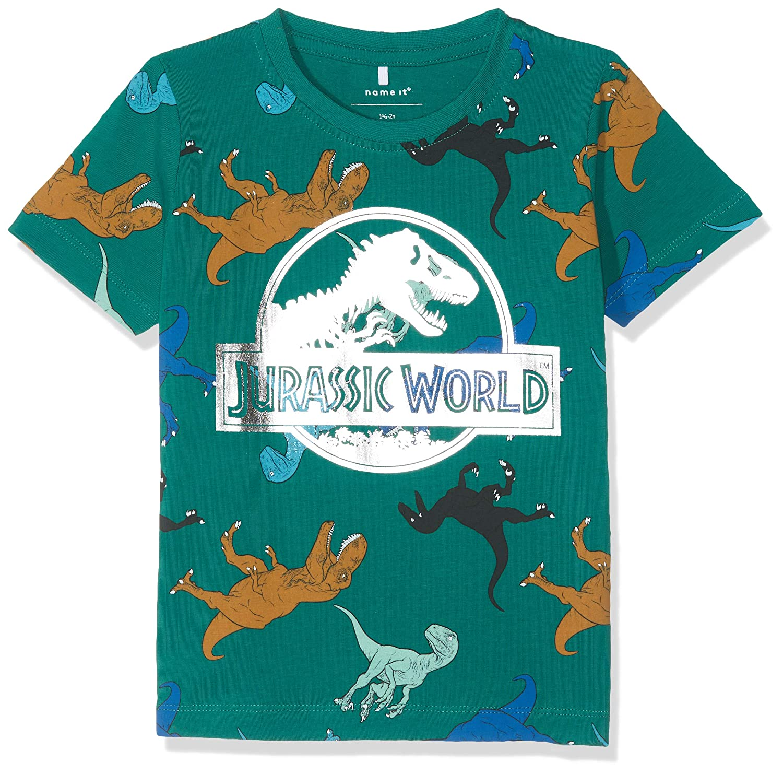NAME IT Baby-Jungen Nmmjurassic Titan Ss Top LIC T-Shirt