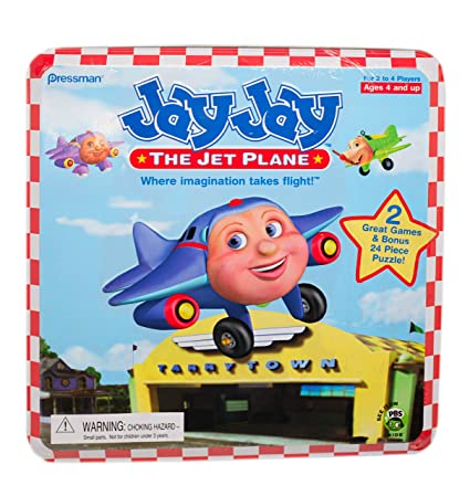 Amazon Com Jay Jay The Jet Plane Fly On Over Game Toys Games