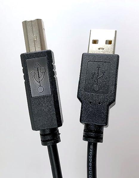 Amazon.com: Micro Conectores, Inc. 10 pies USB 2.0 tipo A a ...