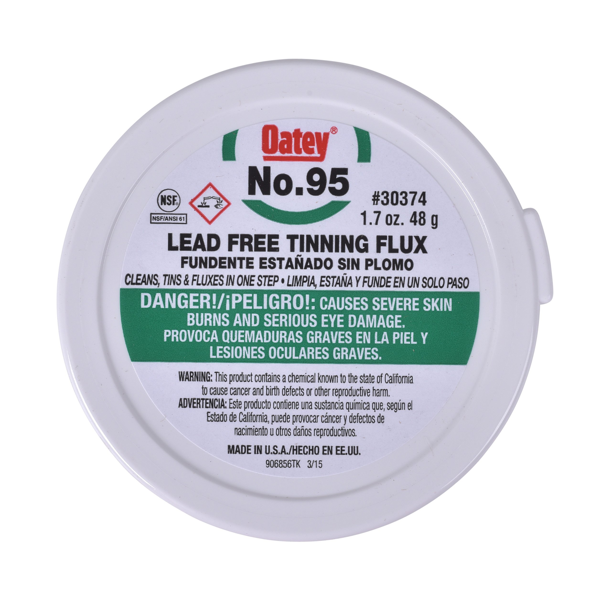 Oatey Company 30374 1.7 Oz #95 Flux product image