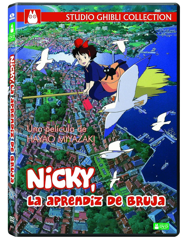 魔女の宅急便(スペイン語)Nicky, La aprendiz de bruja DVD Import: Amazon.ca: DVD