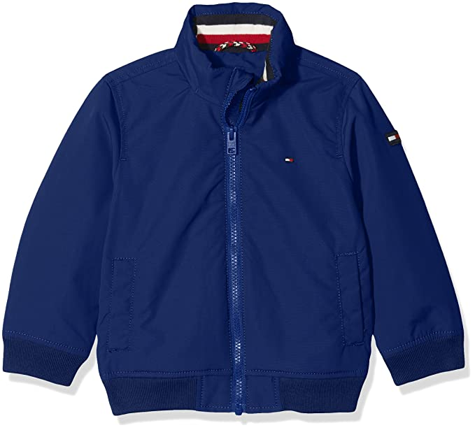 Tommy Hilfiger Ame Thkb Dg Casual Bomber Jacket, Chaqueta para Niños, Azul (Blue