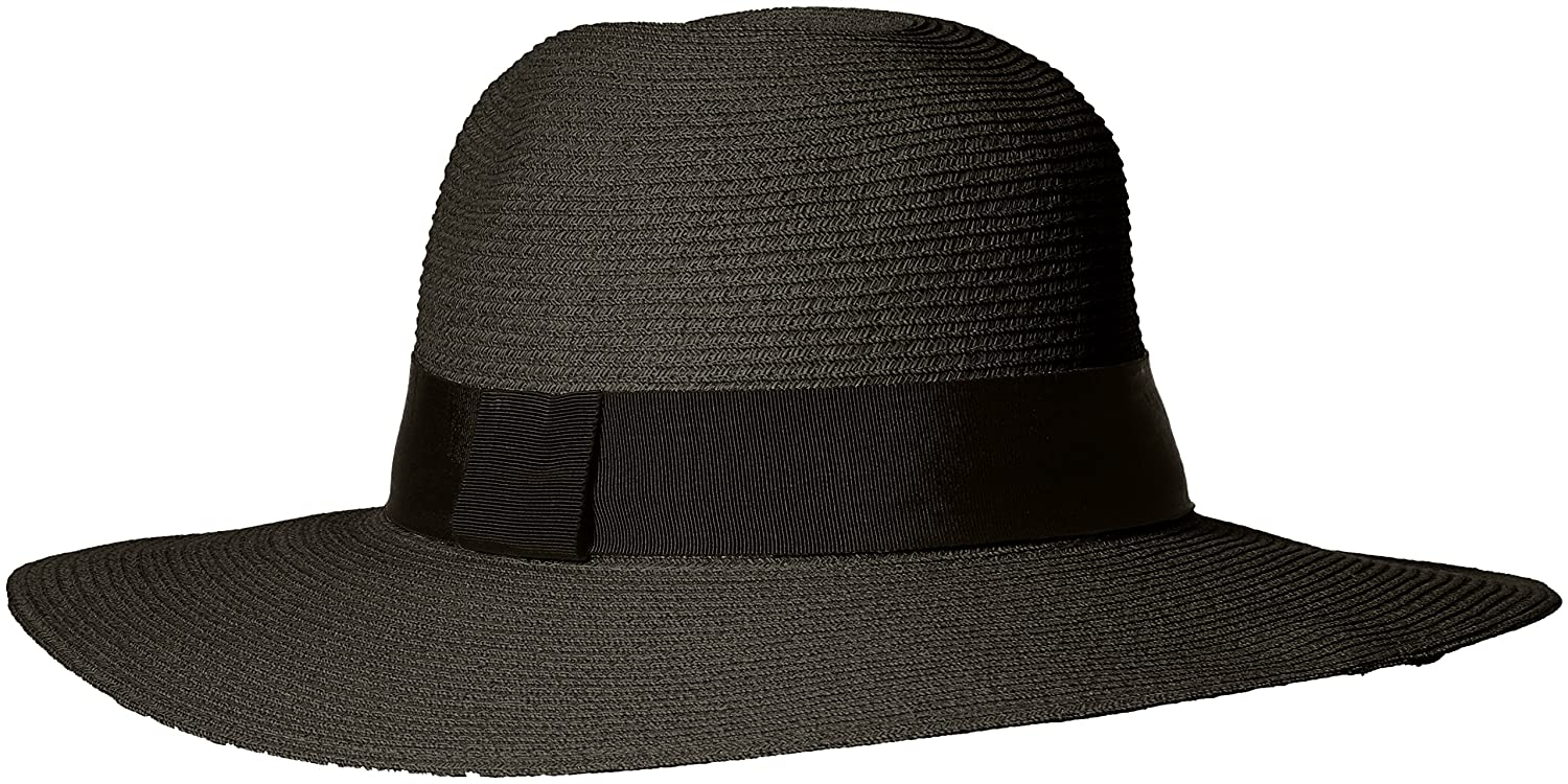 40b7b006f03  ale by alessandra Women s Terranea Toyo Fedora With Ribbon Trim and Rated  UPF 50+