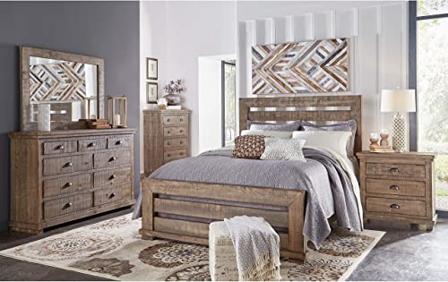 Progressive Furniture Willow Dresser and Mirror