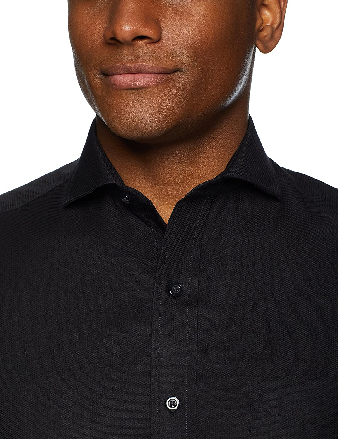Brand BUTTONED DOWN Mens Classic Fit Cutaway-Collar Supima Cotton Dress Casual Shirt