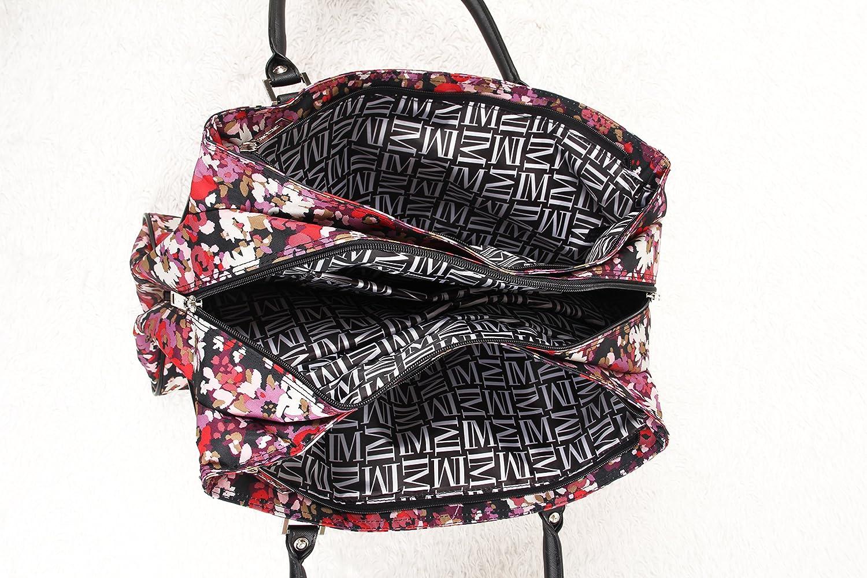 311 Bag Travel Isaac Mizrahi Daphnie Deluxe Shopper Tote Black One Size