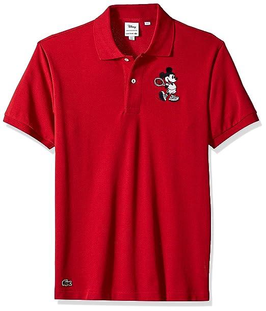 official photos ec300 84125 Lacoste Men's Short Sleeve Orginal Fit Mickey Polo